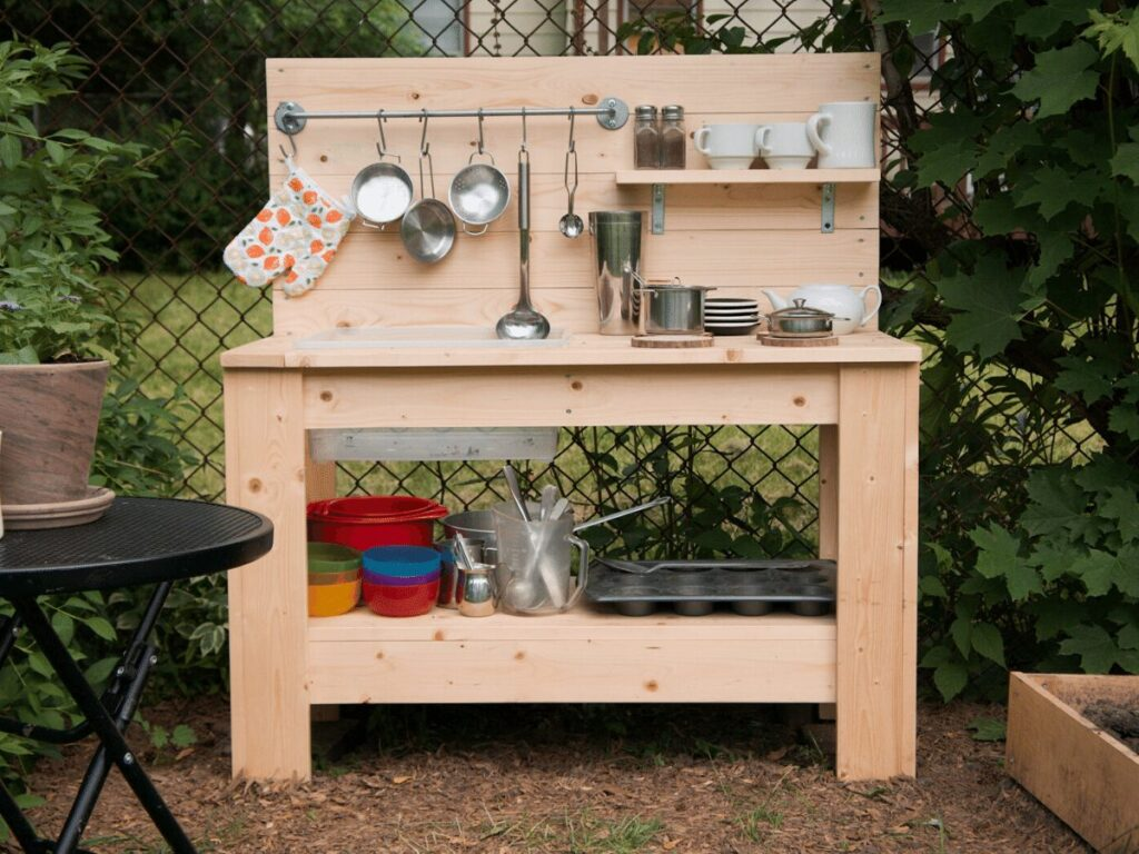 Create A Charming Mud Kitchen With These 9 Ideas