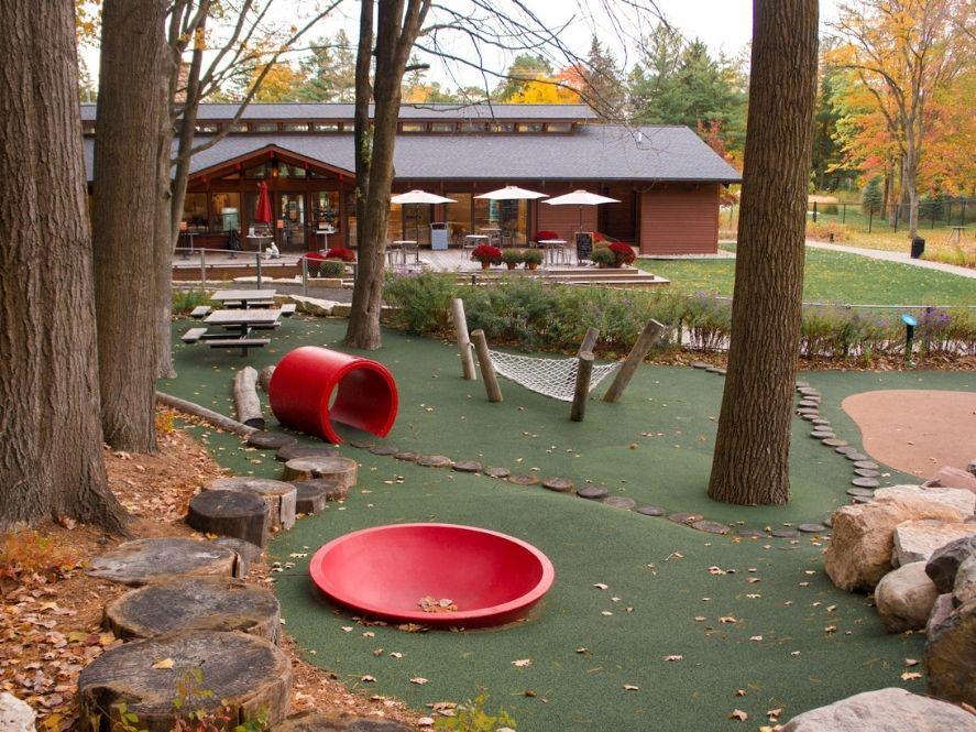 Playground at dow gardens