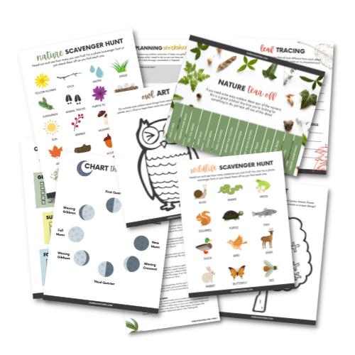 Outdoor Essentials Printable Pack